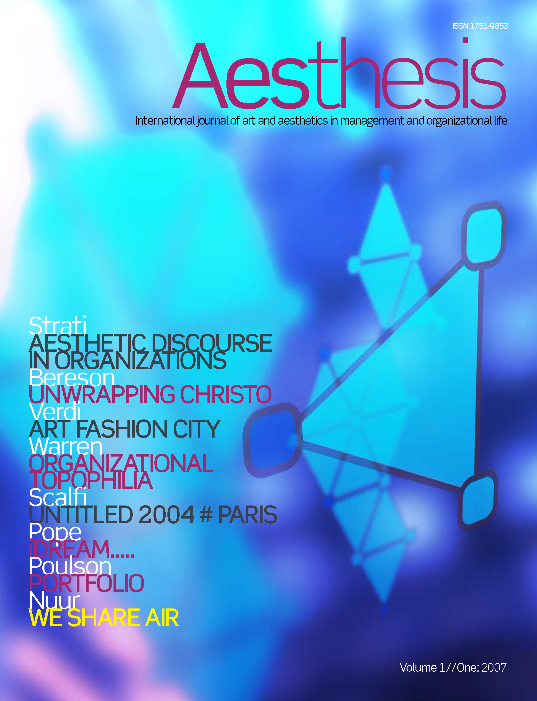 Aesthesis Vol. 1 Iss. 1
