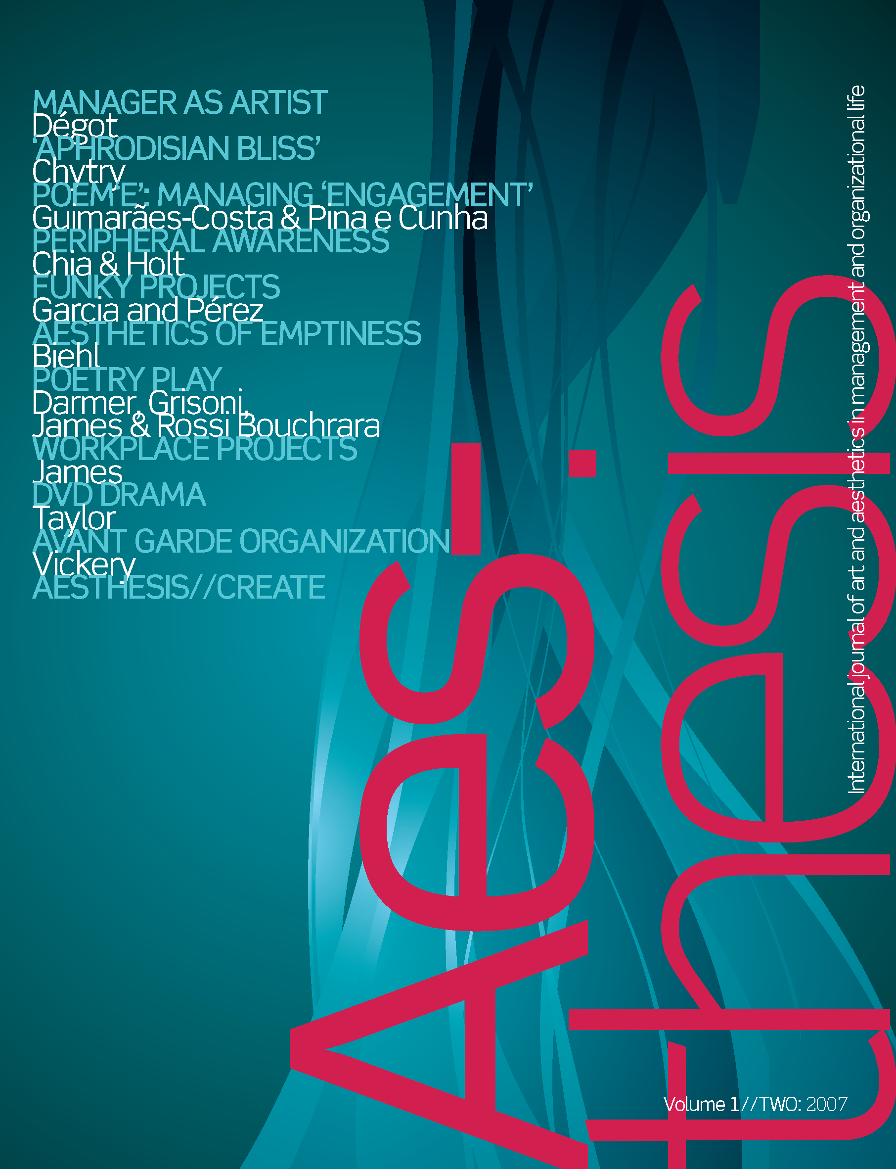 Aesthesis Vol. 1 Iss. 2