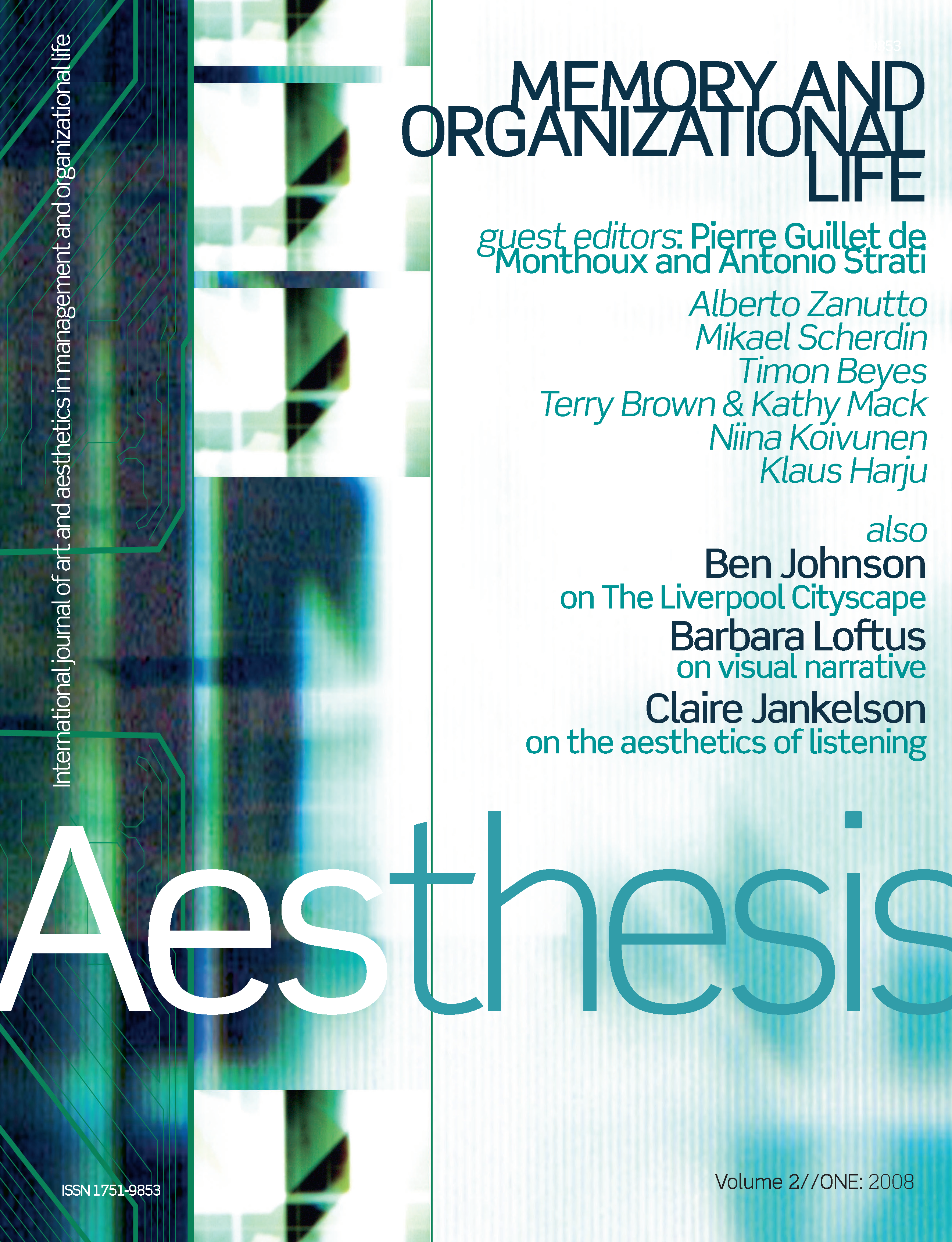 Aesthesis Vol. 2 Iss. 1